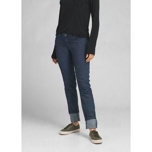 Prana Indigo Straight Leg Kara Stretch Jeans